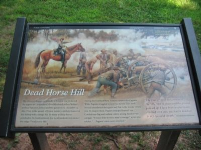 Dead Horse Hill Marker image. Click for full size.