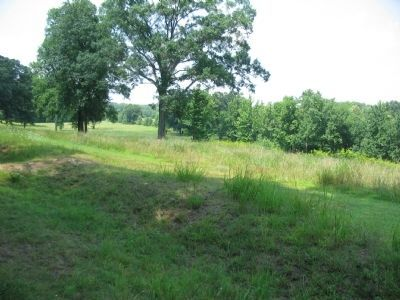 Confederate Earthworks on Prospect Hill image. Click for full size.