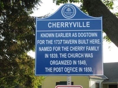 Cherryville Marker image. Click for full size.