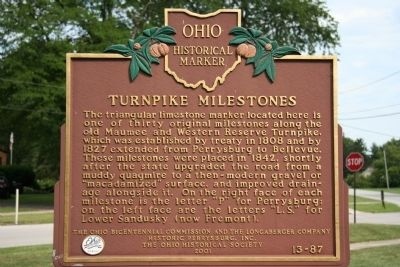 Turnpike Milestones Marker image. Click for full size.