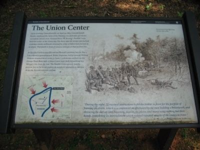 The Union Center Marker image. Click for full size.