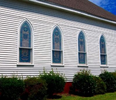 Providence Evangelical Lutheran Church -<br>Southern Exterior image. Click for full size.