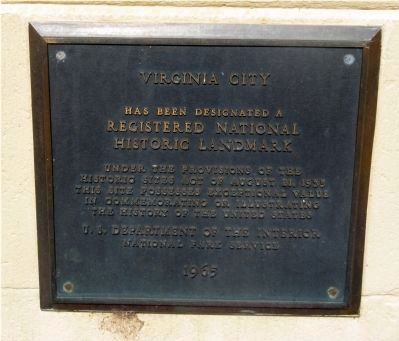 National Historical Landmark Plaque image. Click for more information.