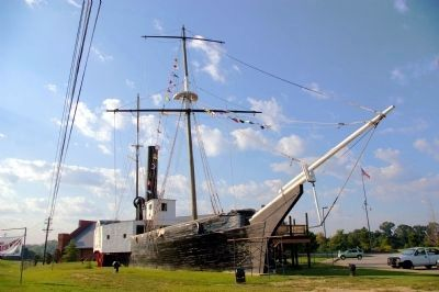 The USS Water Witch (Replica) image. Click for full size.
