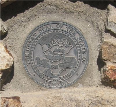 Nevada State Seal image. Click for full size.