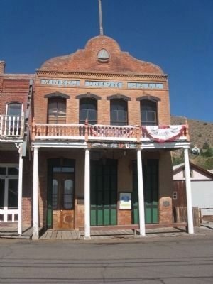 Old Miners Union Hall image. Click for full size.
