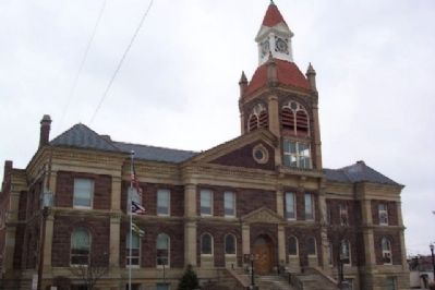 Pickaway County Courthouse image. Click for full size.