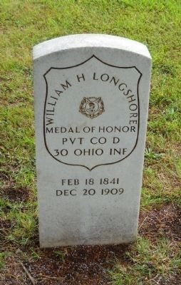 A Franklin County Medal of Honor Recipient image. Click for full size.