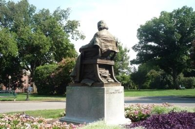 John Carroll Statue image. Click for full size.