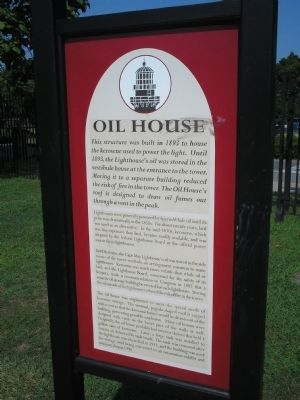 Oil House Marker image. Click for full size.