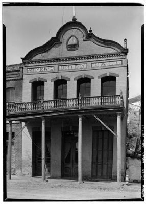 Old Miners Union Hall image. Click for more information.