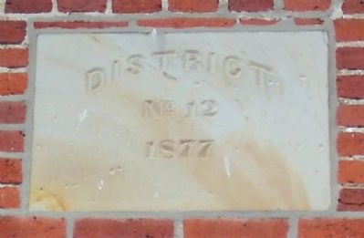 The Red Brick Schoolhouse District No. 12 image. Click for full size.