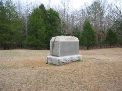 17th Illinois Infantry Monument image. Click for full size.