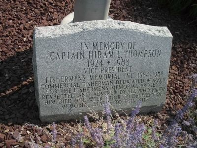 Captain Hiram L. Thompson Memorial image. Click for full size.