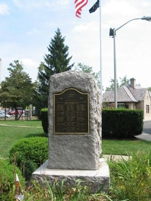 Westwood World War I Monument image. Click for full size.