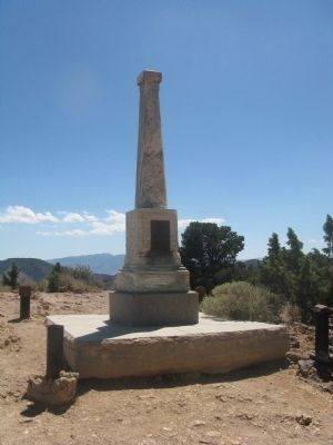 Captain Edward Faris Storey Monument and Gravesite image. Click for full size.