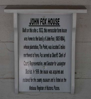 John Fox House Marker image. Click for full size.