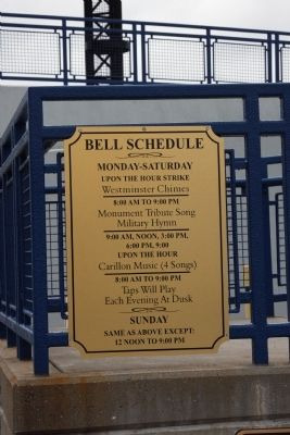 Levee Clock - - Bell Schedule . . . image. Click for full size.
