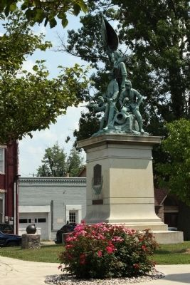 Full View - - Civil War Memorial image. Click for full size.