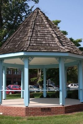 """Gazebo"" on South Lawn of Courthouse image. Click for full size."