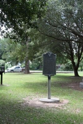 Northampton Marker as seen looking south towards Old Number Six Hwy ( SC-6, SC-45) image. Click for full size.