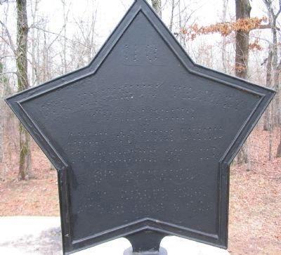 "The ""Star"" On the Right Side of the Monument image. Click for full size."