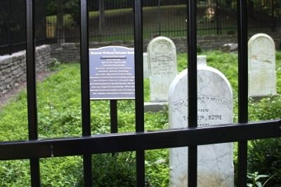 Wide View - - General William Orlando Butler Marker and Grave Stone image. Click for full size.