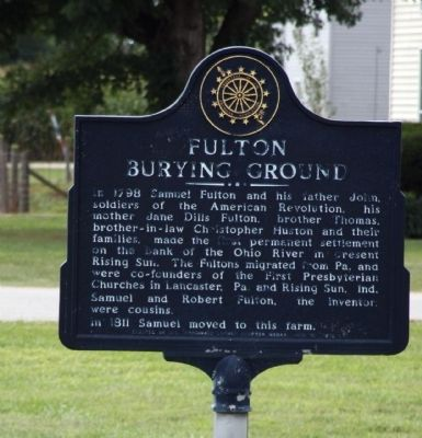 Fulton Burying Ground Marker image. Click for full size.