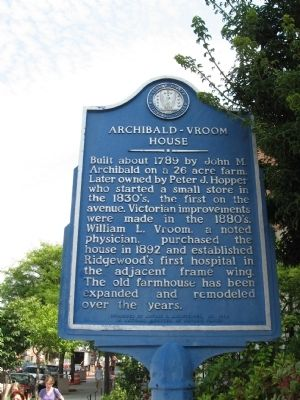 Archibald – Vroom House Marker image. Click for full size.