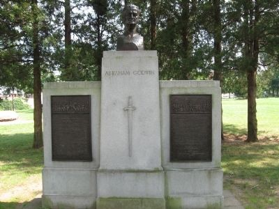 Brigadier General Abraham Godwin Monument image. Click for full size.