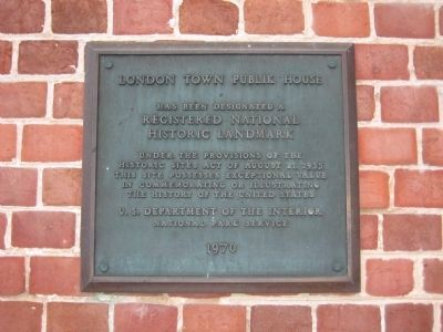 Registered National Historic Landmark Marker image. Click for full size.
