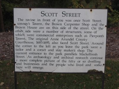 Scott Street Marker image. Click for full size.