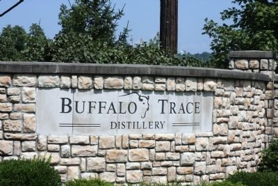 Buffalo Trace Disttillery - Sign image. Click for full size.