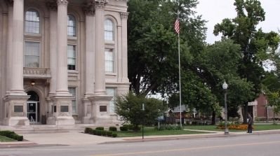 Looking North East - - Dearborn County Courthouse image. Click for full size.