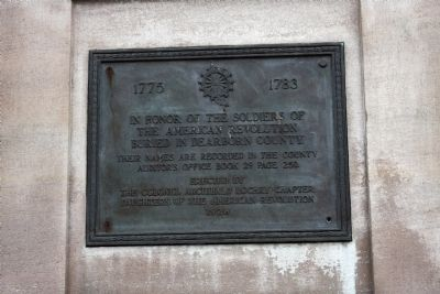 American Revolution War Memorial Marker image. Click for full size.