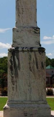 Lexington County Confederate Monument -<br>Northeast Inscription image. Click for full size.