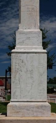 Lexington County Confederate Monument -<br>Southwest Inscription image. Click for full size.