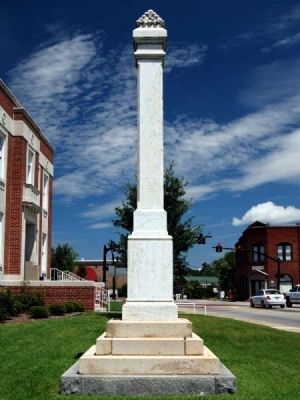 Lexington County Confederate Monument image. Click for full size.