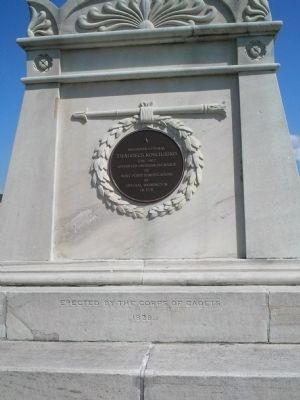 Back of Kosciuszko Monument image. Click for full size.