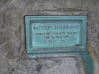 Battery Sherburne Marker image. Click for full size.