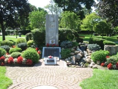 Hillsdale Fire Department Monument image. Click for full size.