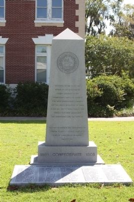 Montgomery County Confederate Monument Marker image. Click for full size.