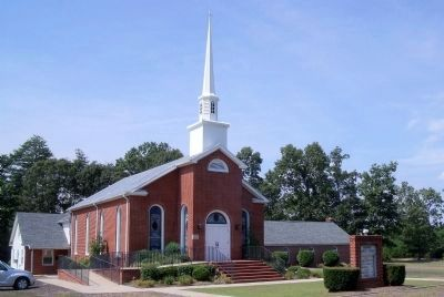 Hanover Baptist Church (modern). image. Click for full size.