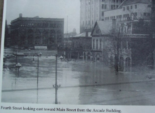 The Great Dayton Flood of 1913 Marker Photo