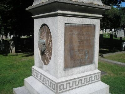 Custer's Grave at West Point image. Click for full size.