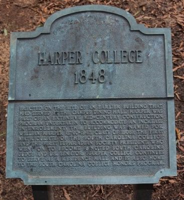 Harper College Marker image. Click for full size.