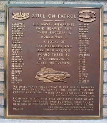 Still on Patrol Marker image. Click for full size.