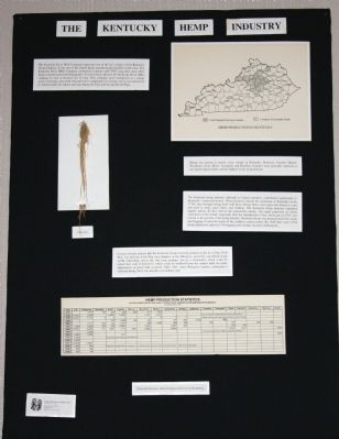 Display # 2 - - Items about the Hemp Mill image. Click for full size.