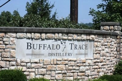 Entry Sign - - Buffalo Trace Distillery image. Click for full size.