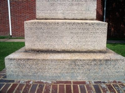 King George County Confederate Monument image. Click for full size.
